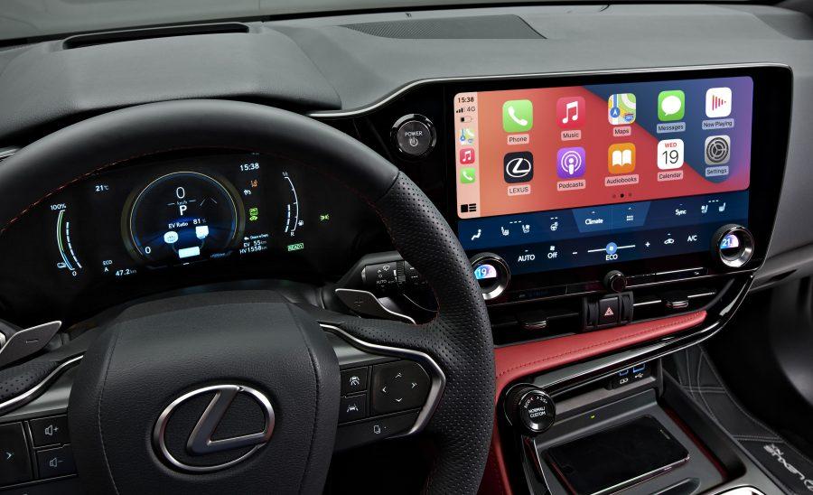 New Lexus Infotainment