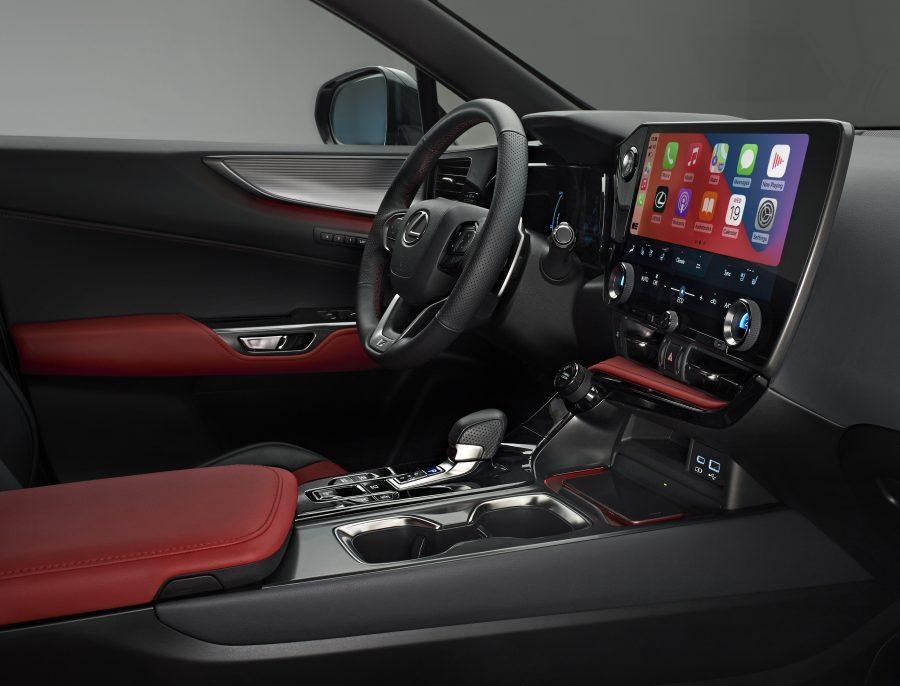 450h+ plug-in hybrid interior