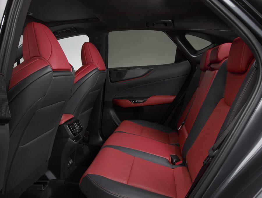 450h+ plug-in hybrid rear seats