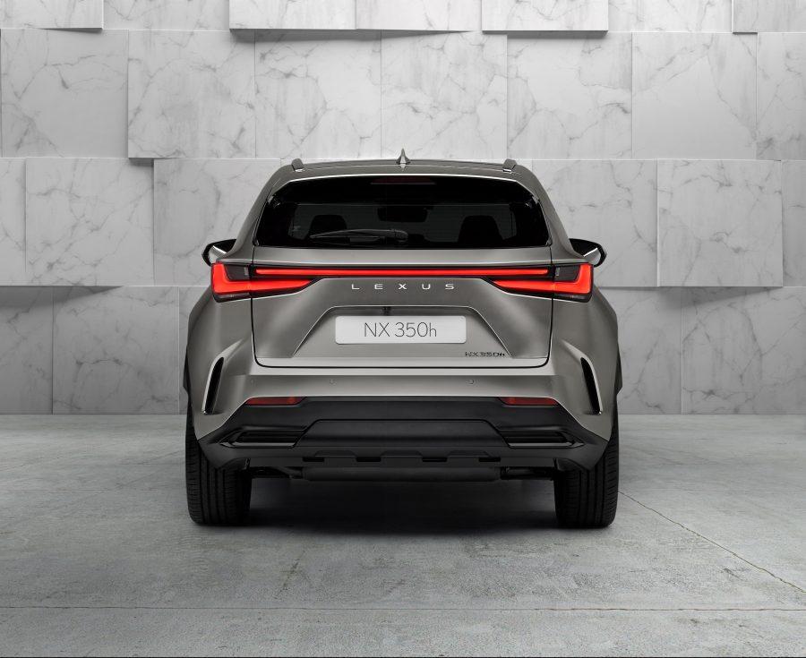 Lexus car design – all-new NX 350h