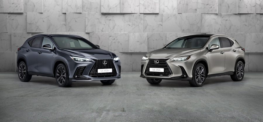 All-new NX 350h and NX 450h plug-in hybrid