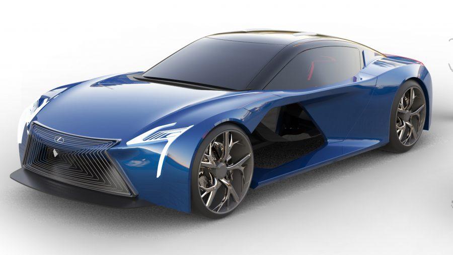 Lexus Bond Car by Francis John