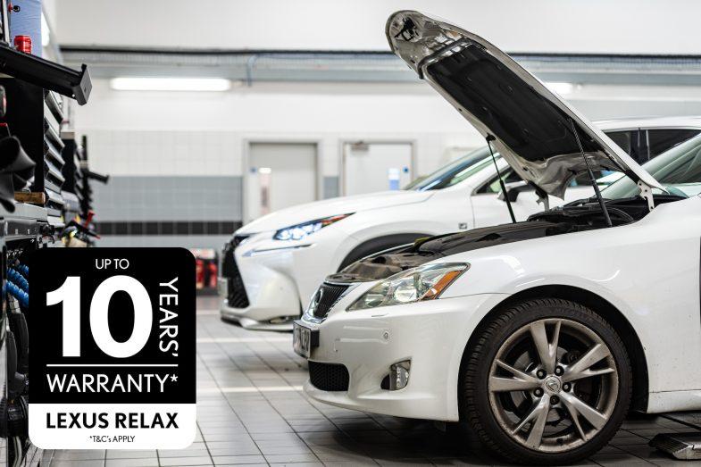 Lexus Relax logo header image