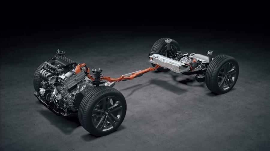 NX 350 Hybrid platform