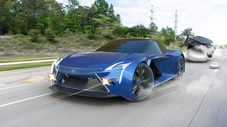 Lexus Bond Car