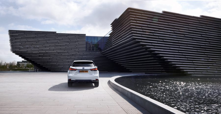 Lexus RX at Dundee