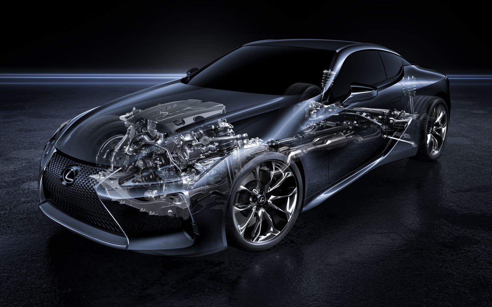 Lexus V8