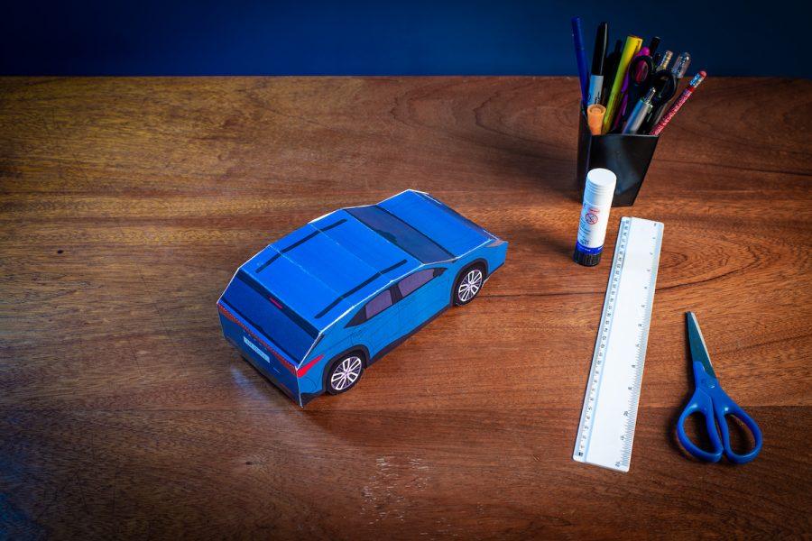 Lexus NX paper model