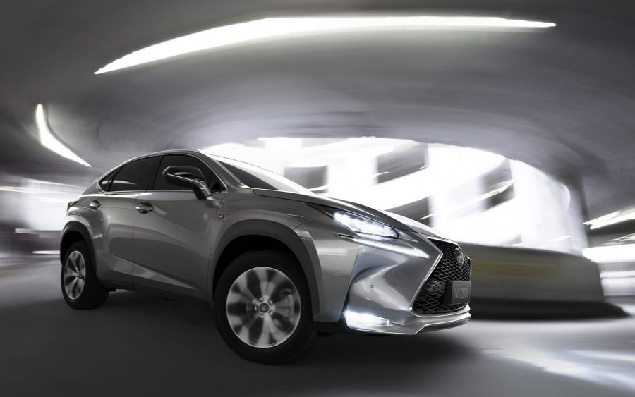 Lexus NX history